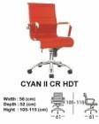 Kursi Direktur & Manager Indachi Cyan II CR HDT