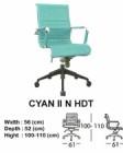 Kursi Direktur & Manager Indachi Cyan II N HDT