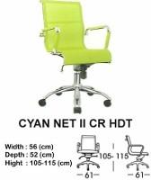 Kursi Direktur & Manager Indachi Cyan NET II CR HDT