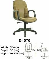 Kursi Direktur & Manager Indachi D-570