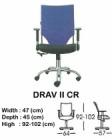 Kursi Direktur & Manager Indachi Drav II CR
