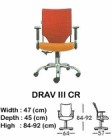 Kursi Direktur & Manager Indachi Drav III CR