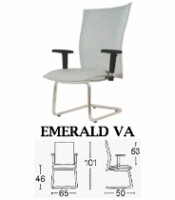 Kursi Direktur Modern Savello Emerald VA