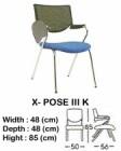 Kursi Kuliah Indachi Type X-Pose III K