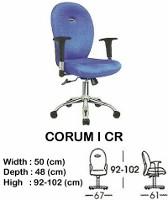 Kursi Staff & Sekretaris Indachi Corum I CR