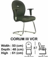 Kursi Hadap Indachi Corum III VCR