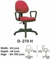Kursi Staff & Sekretaris Indachi D-270 H