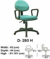 Kursi Staff & Sekretaris Indachi D-280 H