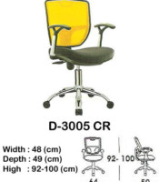 Kursi Staff & Sekretaris Indachi D-3005 CR