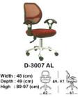 Kursi Staff & Sekretaris Indachi D-3007 AL