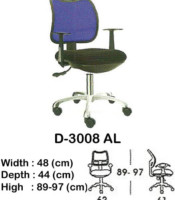 Kursi Staff & Sekretaris Indachi D-3008 AL