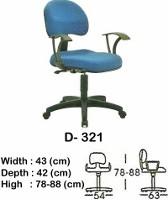 Kursi Staff & Sekretaris Indachi D-321