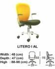 Kursi Staff & Sekretaris Indachi Litero I AL