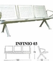 Kursi Tunggu Savello Type Infinio 03