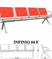 Kursi Tunggu Savello Type Infinio 04 F