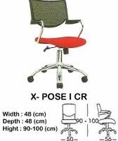 Kursi Staff & Sekretaris Indachi X-Pose I CR