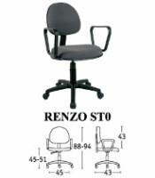 Kursi Staff & Sekretaris Savello Renzo ST0