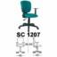 Kursi Sekretaris Chairman Type SC 1207