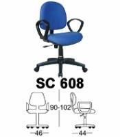 Kursi Sekretaris Chairman Type SC 608