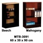 Rak Buku Kecil Tanpa Pintu Expo Type MTB-3091