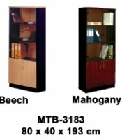 Rak Buku Pintu Kaca Expo Type MTB-3183