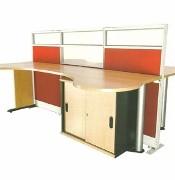 Partisi Kantor Uno Premium Series Configuration 3