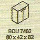 Meja Kantor Modera BCU 7482 ( B Class )
