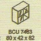 Meja Kantor Modera BCU 7483 ( B Class )