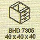 Meja Kantor Modera BHD 7305 ( B Class )