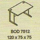 Meja Kantor Modera BOD 7512 ( B Class )