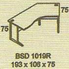 Meja Kantor Modera BSD 1019R ( B Class )
