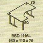 Meja Kantor Modera BSD 1116L ( B Class )