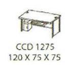 Meja Kantor Modera CCD 1275 ( C Class )