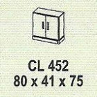 Meja Kantor Modera CL 452 ( M Class )