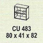 Meja Kantor Modera CU 483 ( M Class )