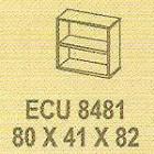 Meja Kantor Modera ECU 8481 ( E Class )