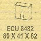 Meja Kantor Modera ECU 8482 ( E Class )