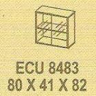 Meja Kantor Modera ECU 8483 ( E Class )