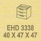Meja Kantor Modera EHD 3338 ( E Class )
