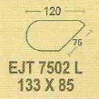 Meja Kantor Modera EJT 7502 L ( E Class )