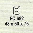Meja Kantor Modera FC 682 ( M Class )