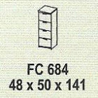 Meja Kantor Modera FC 684 ( M Class )