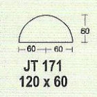 Meja Kantor Modera JT 171 ( M Class )