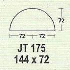 Meja Kantor Modera JT 175 ( M Class )