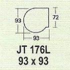 Meja Kantor Modera JT 176 L ( M Class )