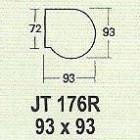 Meja Kantor Modera JT 176 R ( M Class )
