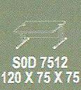 Meja Kantor Modera SOD 7512 ( S Class )