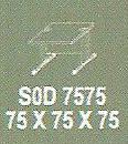 Meja Kantor Modera sOD 7575 ( S Class )