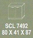 Meja Kantor Modera SCL 7492 ( S Class )