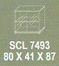Meja Kantor Modera SCL 7493 ( S Class )
